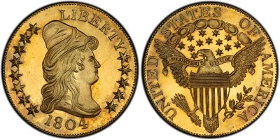 5 - 1804 $10 Proof Gold Eagle PR-65+ DCAM