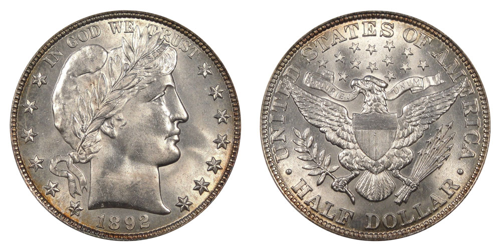 Barber Silver Half Dollar