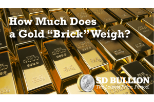 How Much Does a Gold Brick Weigh?