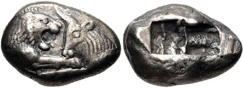 Silver Croeseid 550 BC