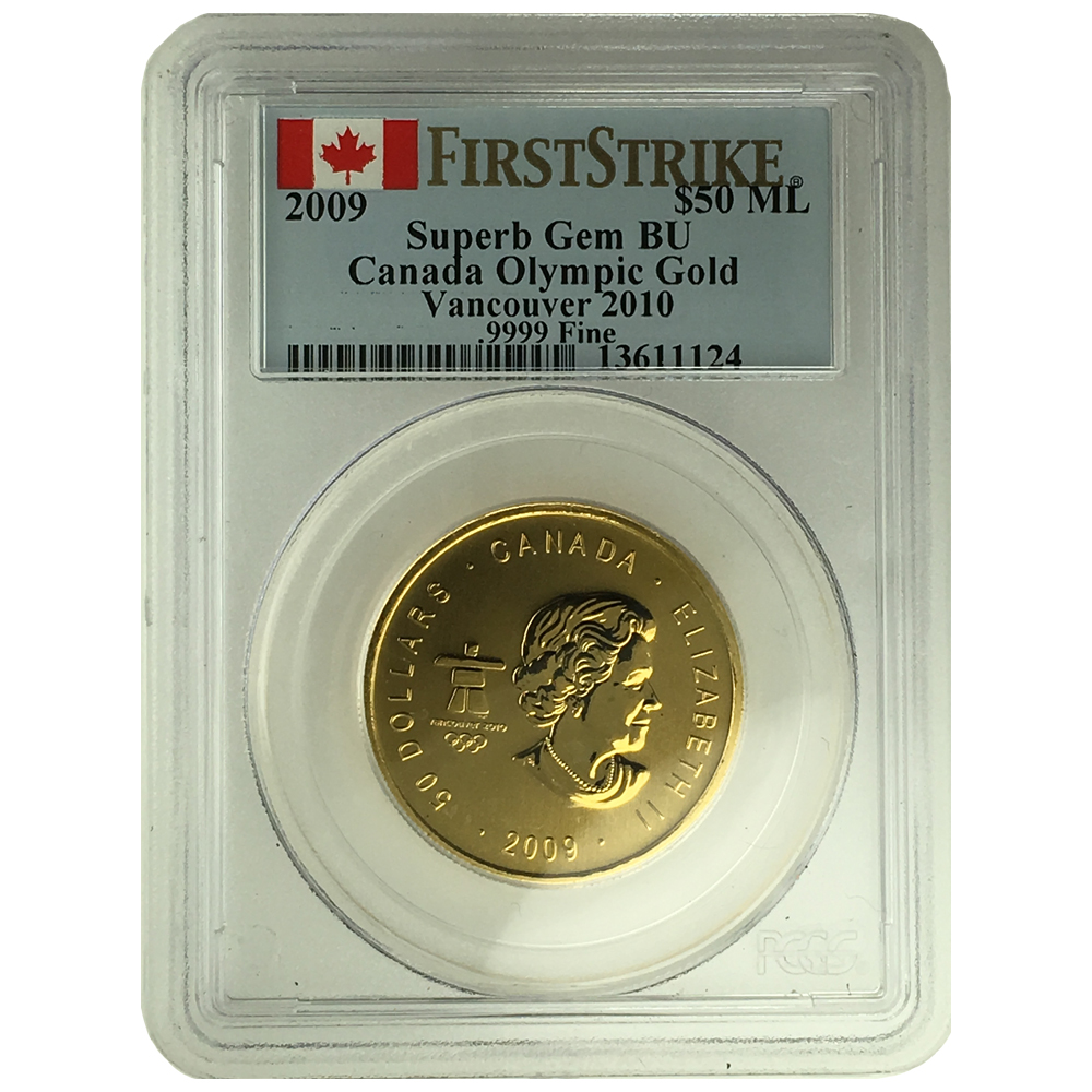 Royal Canadian Mint Graded Gold Coins