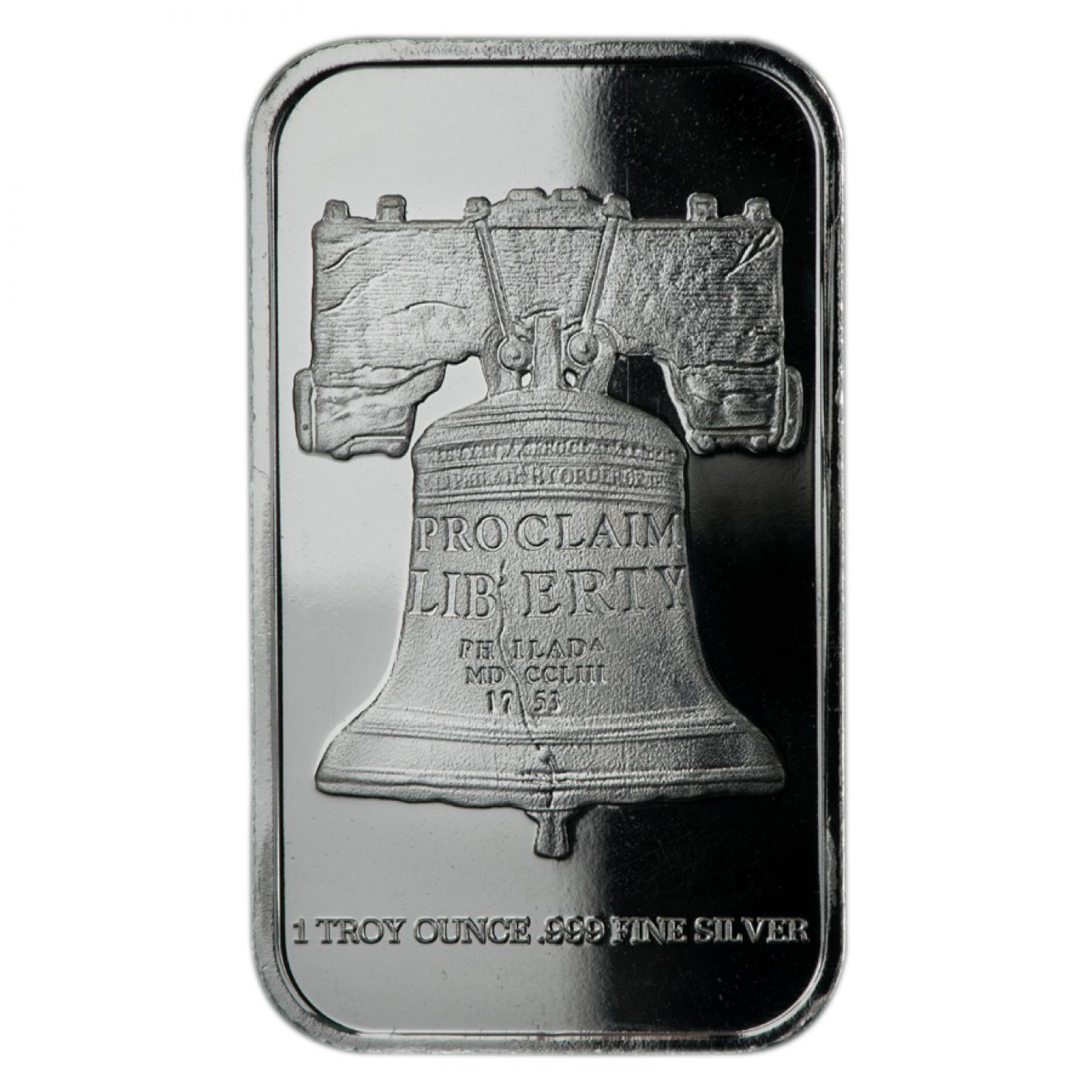 1 oz Silver Bars-image