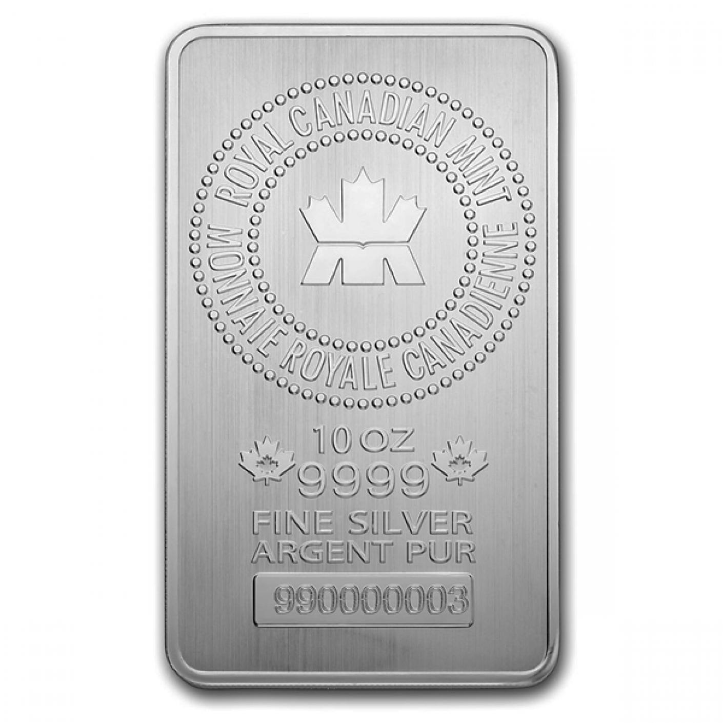 10 oz Silver Bars-image