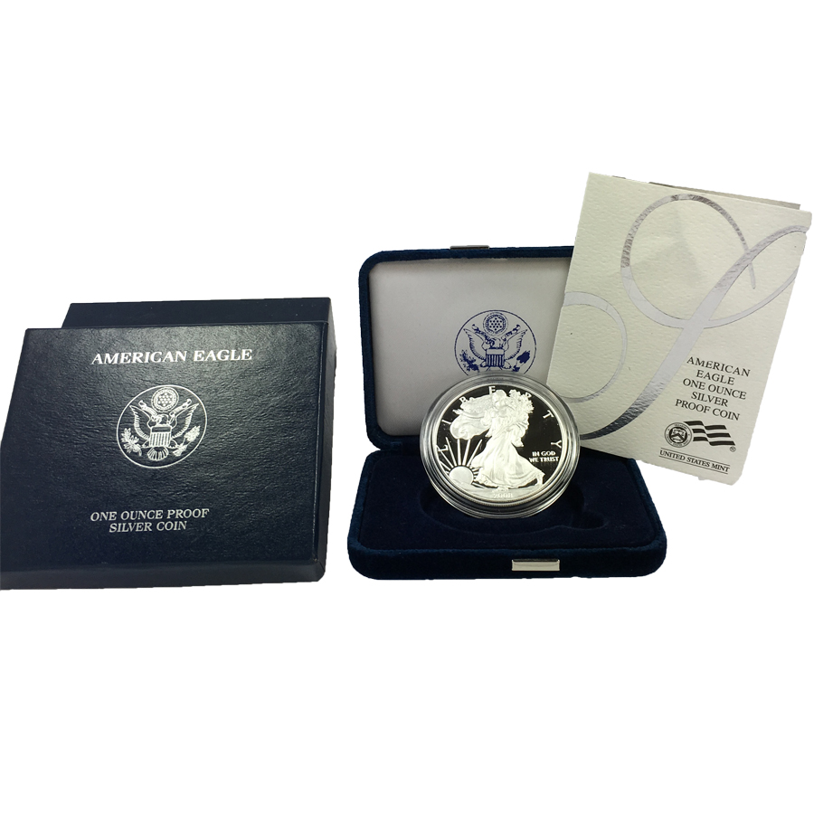 US Mint American Silver Eagle Proof Coins
