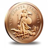 2014 Silver Shield Copper Rounds-image