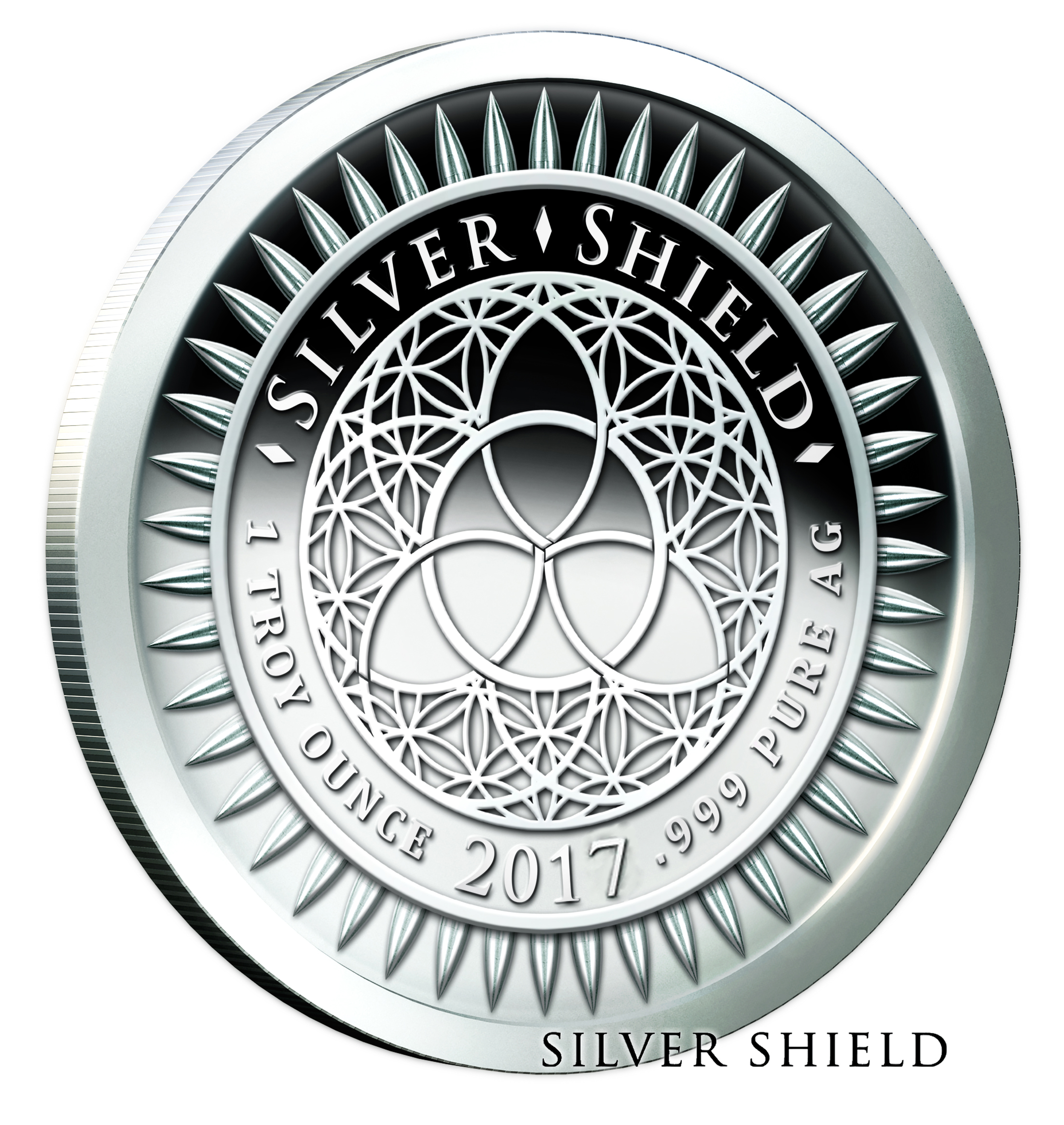 Silver Shield Silver Proof Rounds-image