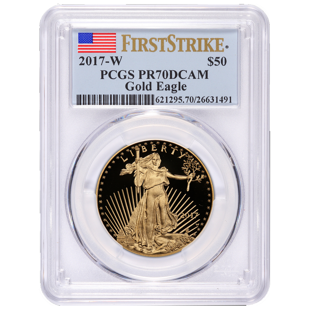 PCGS Graded Proof American Gold Eagle Coins-image