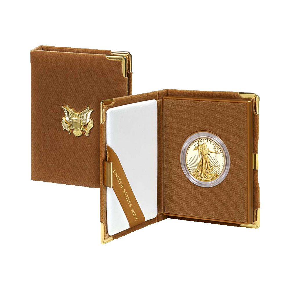 American Gold Eagle Proofs (Mint Box and COA)-image