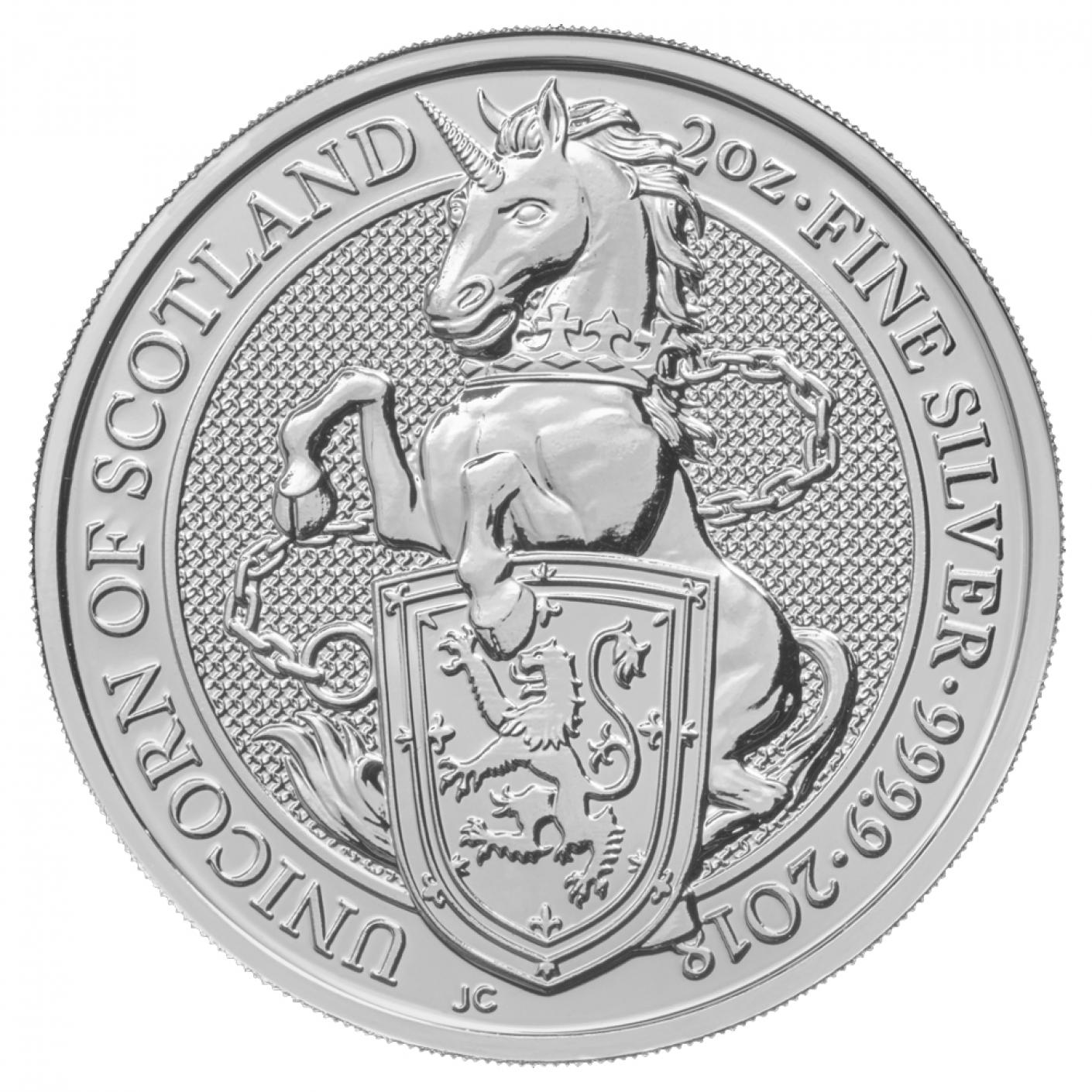 Royal Mint Silver Queen's Beast Coins
