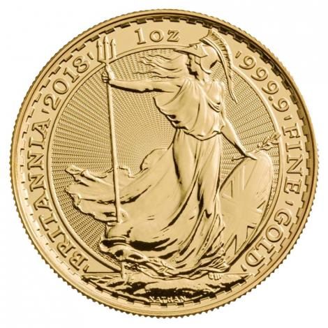 Royal Mint Gold Britannia Coins