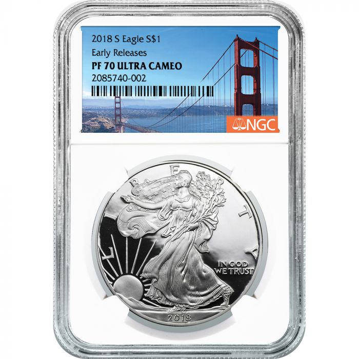 NGC Graded American Silver Eagle Proof Coins-image
