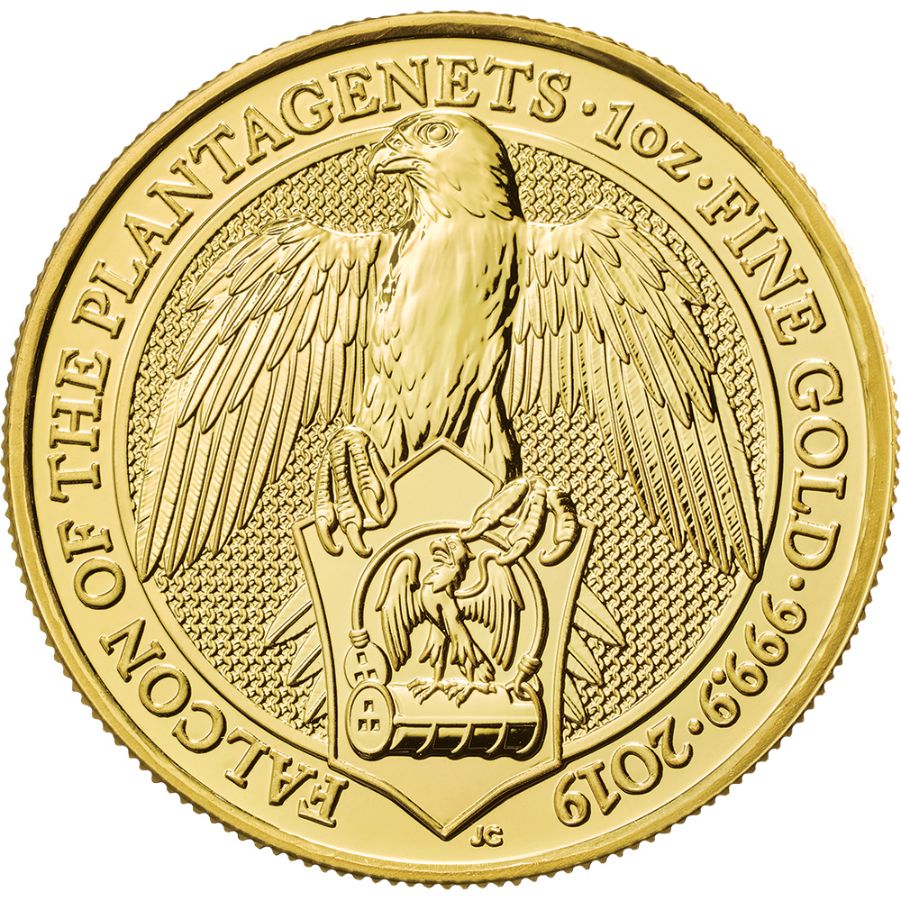 Gold Queen's Beast Coins-image