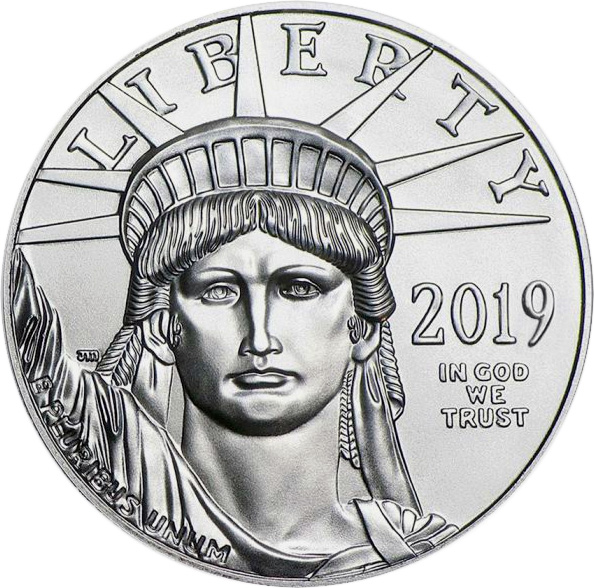 American Platinum Eagle Coins-image