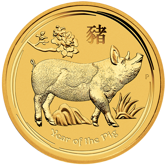 Perth Mint Year of the Pig Gold Coins-image