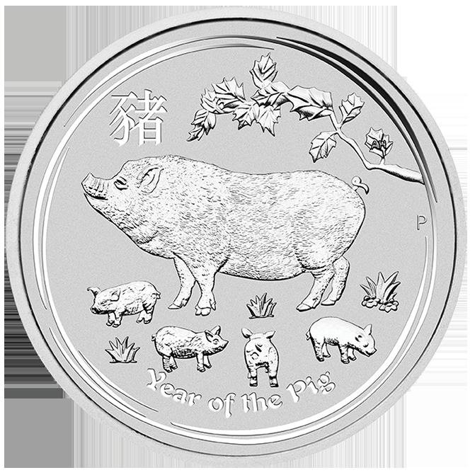 Perth Mint Lunar Series II Silver Coins-image