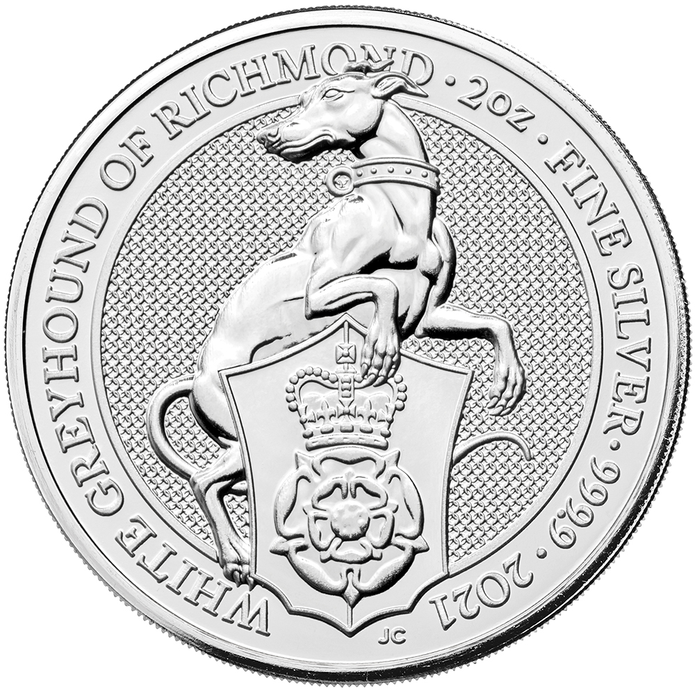 Silver Queen's Beast Coins-image