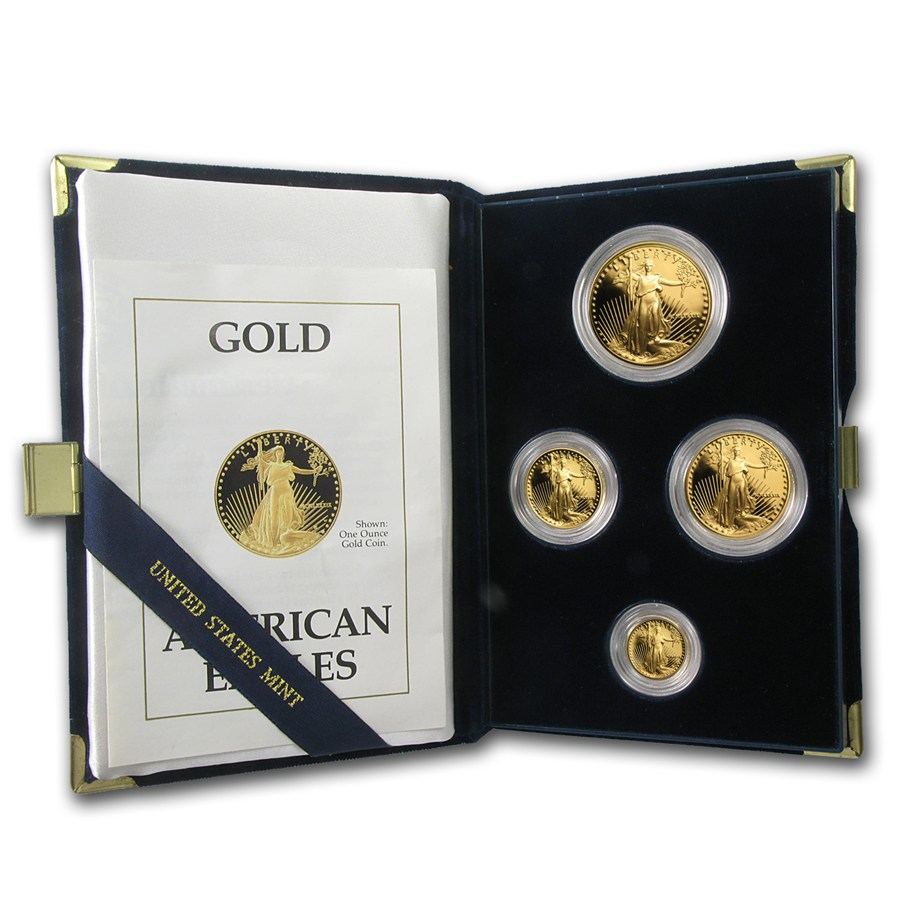 American Gold Eagle Proof Sets-image