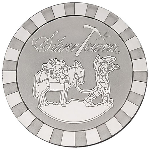 5 oz Silver Rounds-image