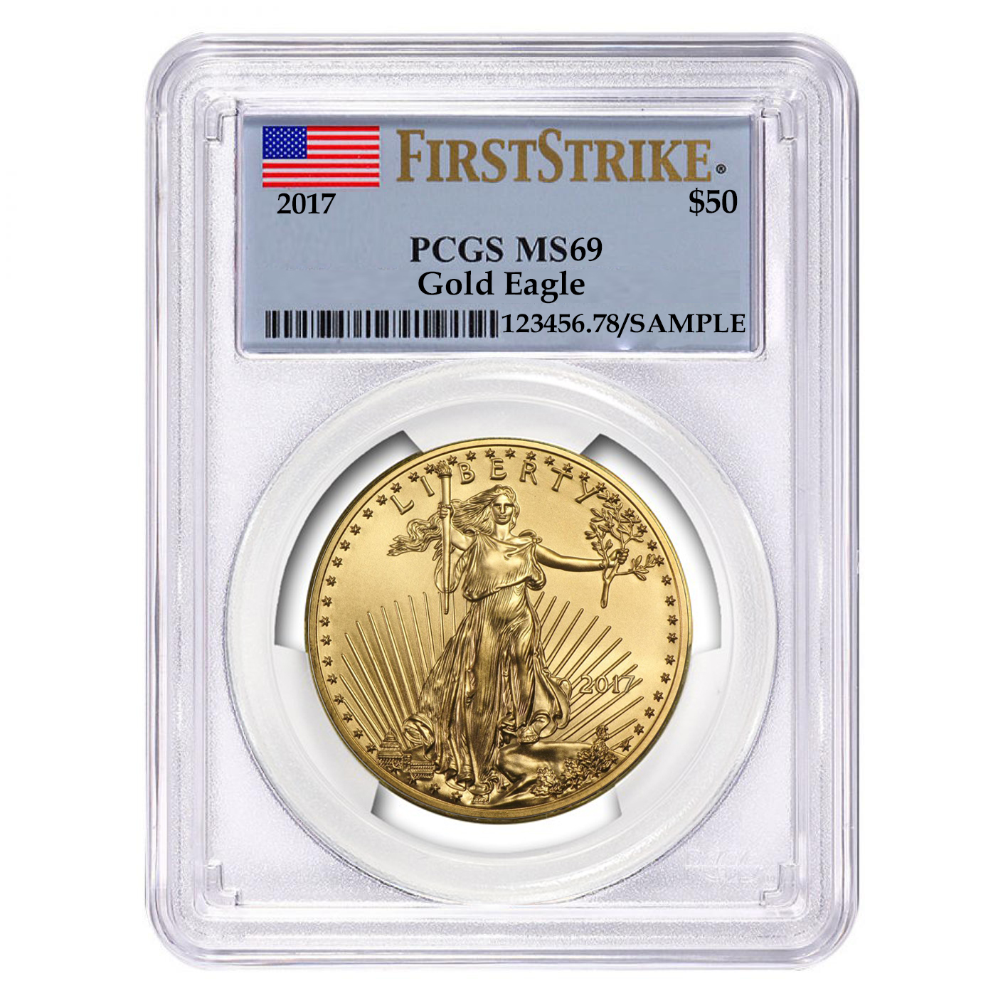 US Mint Graded American Gold Eagles