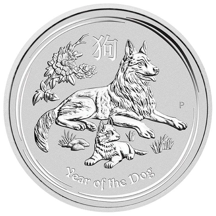 Perth Mint Year of the Dog Silver Coins-image