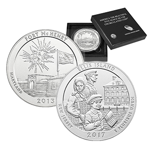 Burnished ATB 5 oz Silver Coins-image
