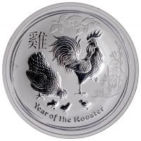 Lunar Rooster Silver Coins-image
