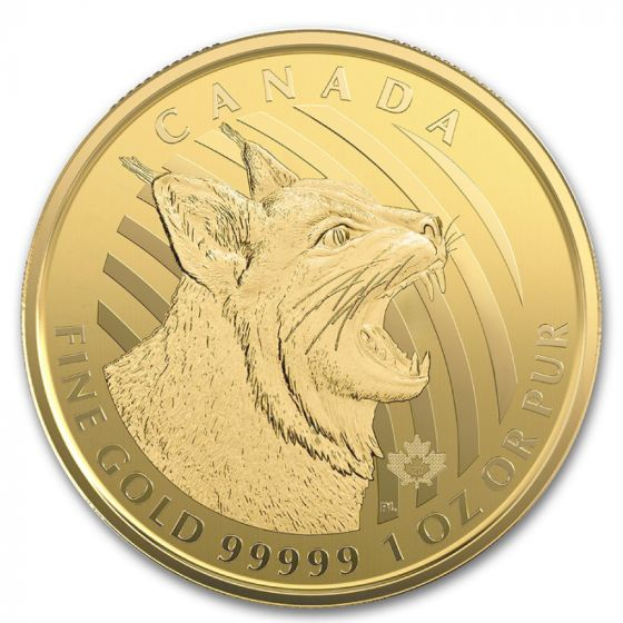 Canadian Call of the Wild Gold Coins