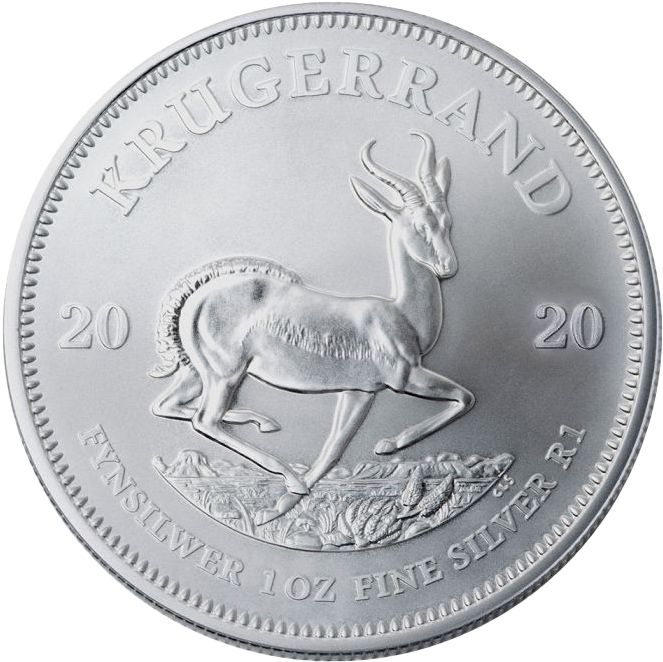 Silver African Coins