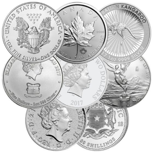1 oz Silver Coins