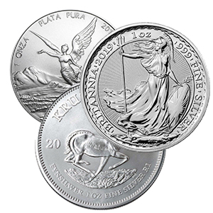 Buy Silver Bars, Silver Coins, Silver Bullion | Lowest Price
