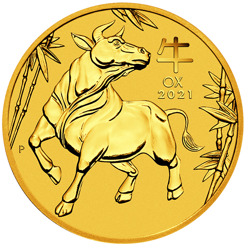Perth Mint Year of the Ox Gold Coins (Lunar Series III)-image