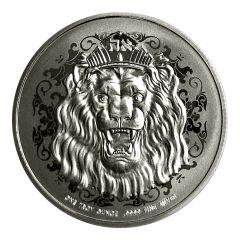 2020 1 oz Roaring Lion Silver Coin