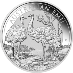 2019 1 oz Australian Emu Silver Coin