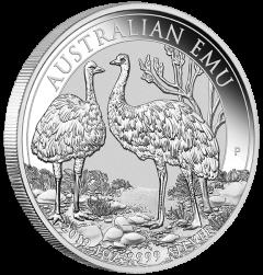 2019 1 oz Australian Emu Proof Silver Coin