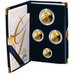 US Mint Gold Eagle Proof Set (Original Box & COA) - Random Year