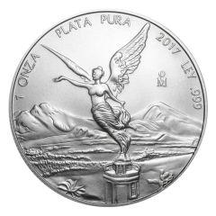 2017 Mexican Libertad Silver Coin 1 oz