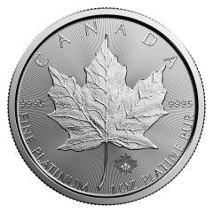 2017 1 oz Canadian Platinum Maple Leaf Coin