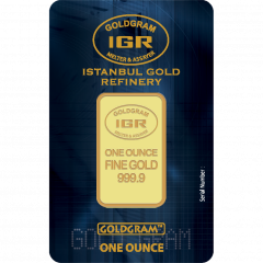1 oz Istanbul Gold Refinery Gold Bar - In Assay