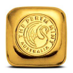 1 oz Perth Mint Cast Gold Bar