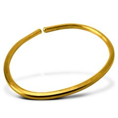 1 oz Smooth Gold Bullion Bracelet (New From Mint)