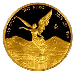 2019 1/10 oz Mexican Gold Libertad Coin (Proof)