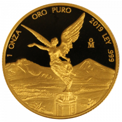 2019 1 oz Mexican Gold Libertad Coin (Proof)
