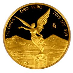2019 1/2 oz Mexican Gold Libertad Coin (Proof)