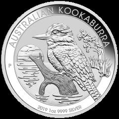 2019 Australian Kookaburra Silver Coin 1 oz