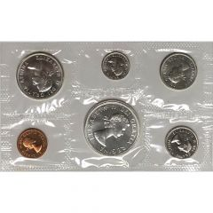 1959-1966 Canada Silver Prooflike Set