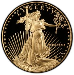 1989 1 oz American Gold Eagle Proof Coin
