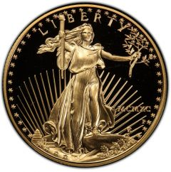 1990 1 oz American Gold Eagle Proof Coin