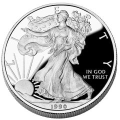 1990 American Silver Eagle Proof
