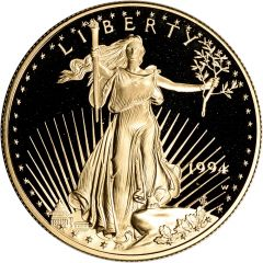 1994 1 oz American Gold Eagle Proof Coin