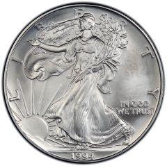 1994 American Silver Eagle Coin